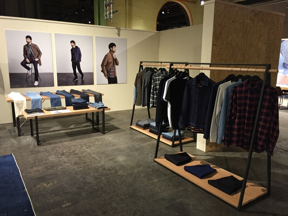 Furniture produced for Levis Made&Crafted